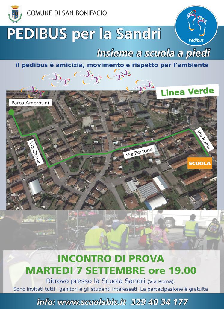 Pedibus Sandri Linea Verde